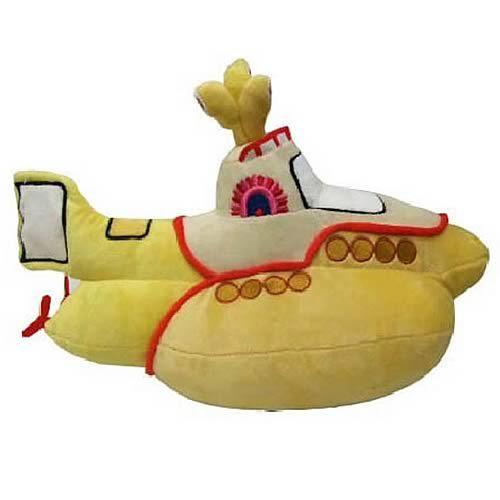 Beatles Yellow Submarine Collectible Plush