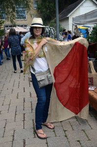 French Laundry shawl at Leslieville flea