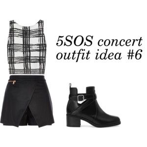 5SOS Outfits Idea   5SOS concert outfit idea #6