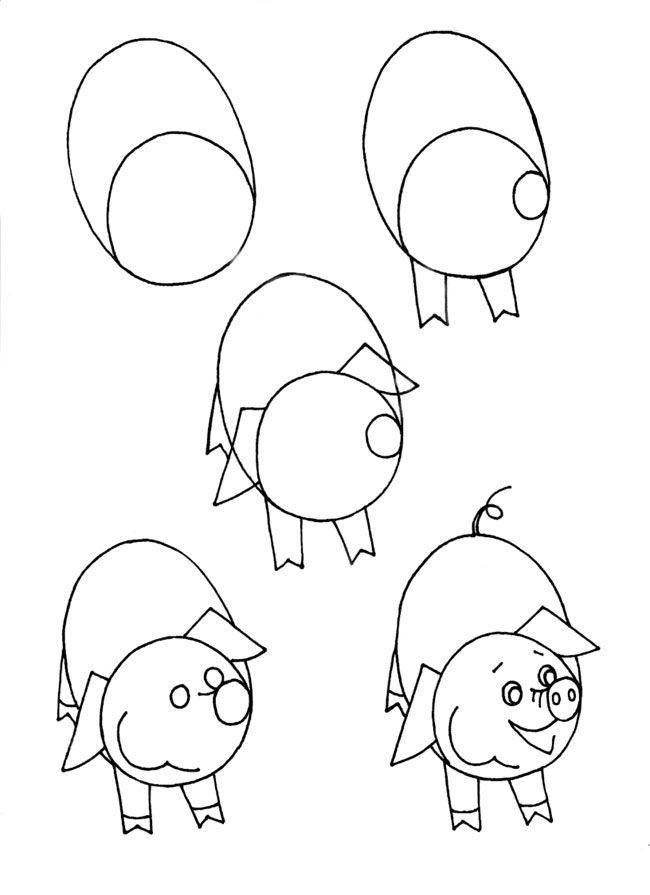 Как рисовать детские картинки, делаем оригинальные эскизы
