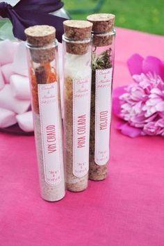 tubes à mojito DIY idée cadeau diy shop it yourself cadeau d'invité diy cadeau noel