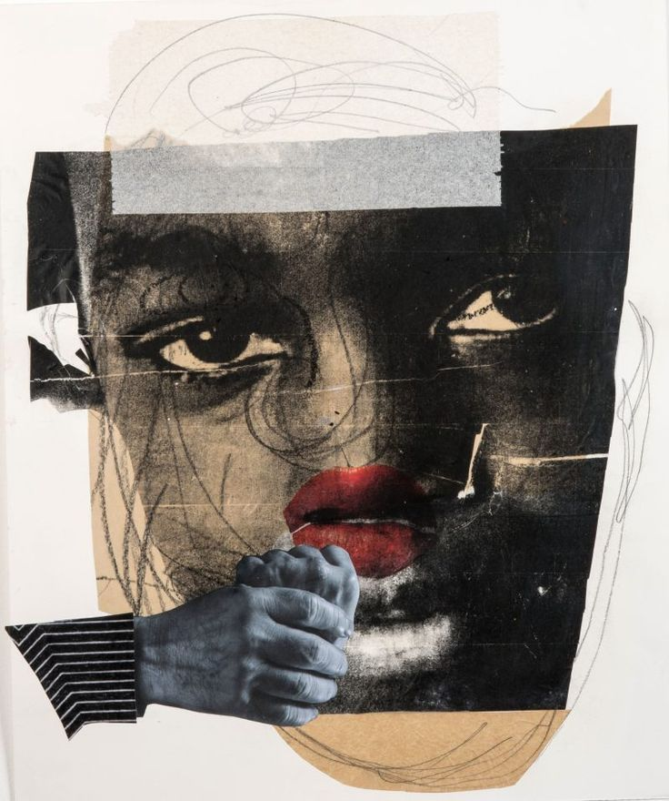 Artblog | Deborah Roberts's moving collages stand out at Untitled Art Fair in Miami