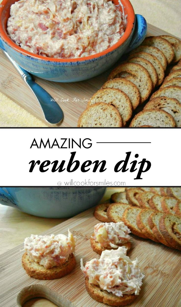 Full of cheesy and creamy goodness, Reuben Dip truly is amazing! Based on the sandwich classic, this recipe will be devoured on the appetizer table with ultra-flavorful Town House Original Crackers.