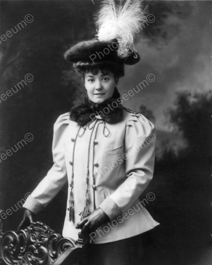 Victorian Lady In Pillbox Hat 1800s 8x10 Reprint Of Old Photo