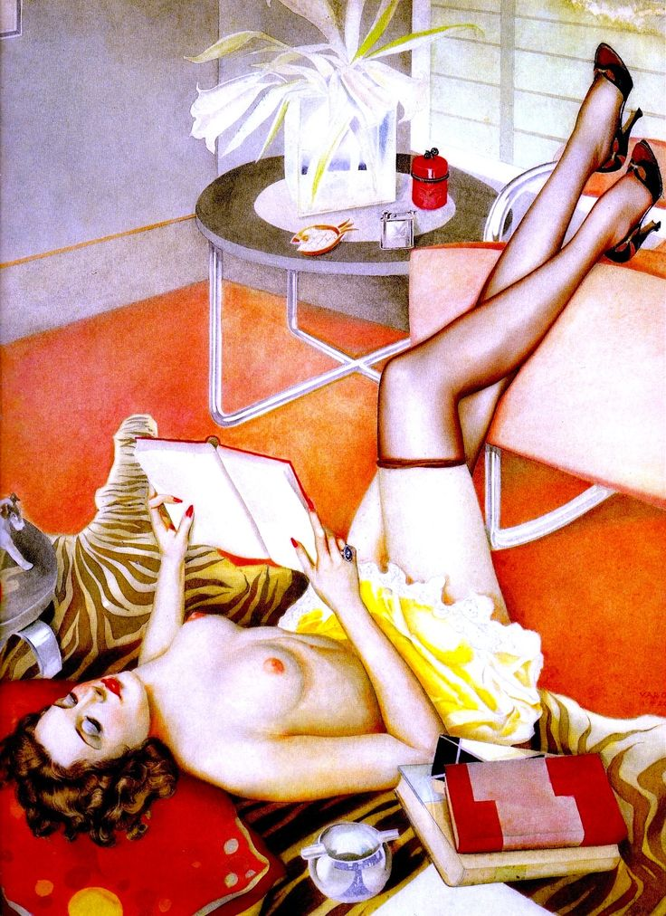 AQUARELL 1920 watercolor illustration by ALBERTO VARGAS (1896-1982) From Vargas 20's-50's Taschen (please follow minkshmink on pinterest) #vargas #illustration #glamour #pinup #girlie