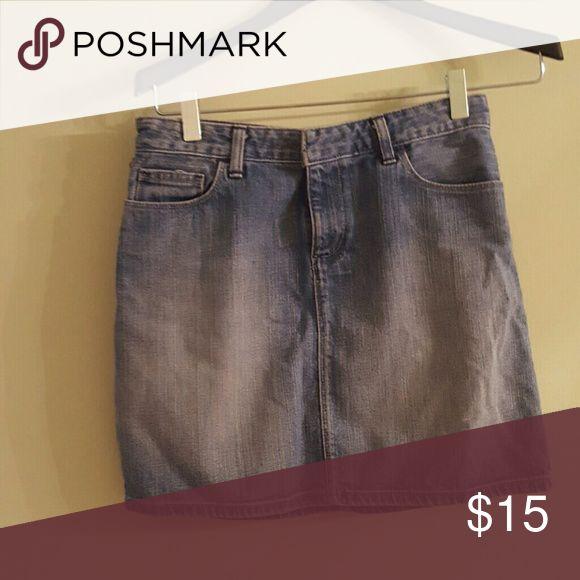 Size 2 Polo Jean mini skirt Size 2 Polo jean mini skirt. Jillian style. Polo by Ralph Lauren Skirts Mini