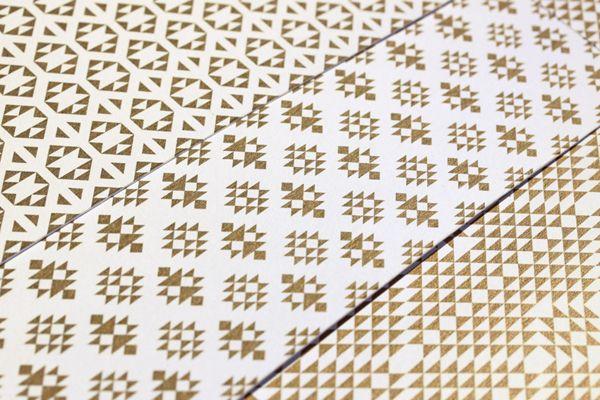 Zeri Crafts brand identity - inspired by Sadu weave design