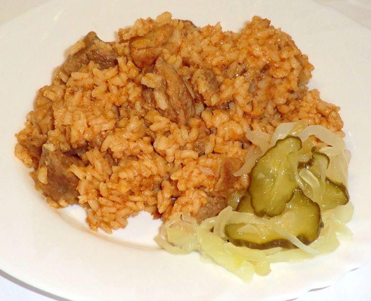 Rizseshús recept sertéscombból