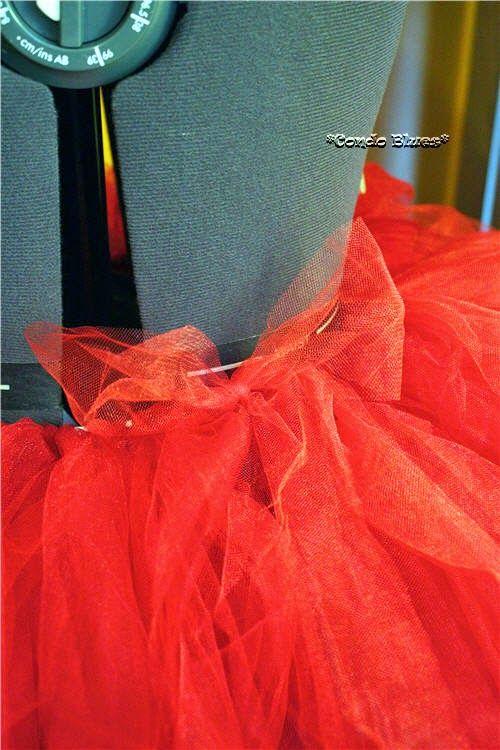 how to make a tutu skirt no sew
