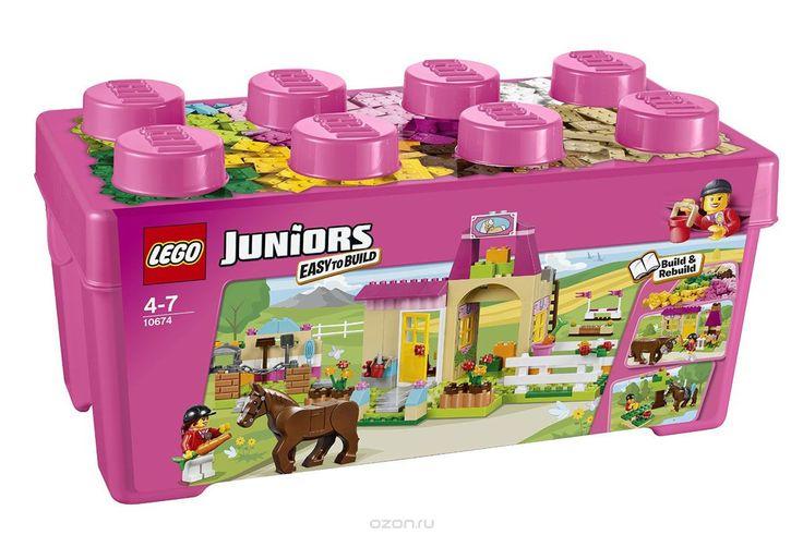 Купить lego juniors конструктор пони на ферме - детские товары LEGO в интернет-магазине OZON.ru, цена lego juniors конструктор пони на ферме.