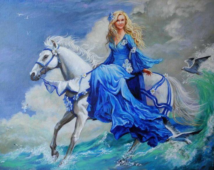 Картины (живопись) : Всадница(заказной портрет). Автор Ольга Георгиевна Симонова