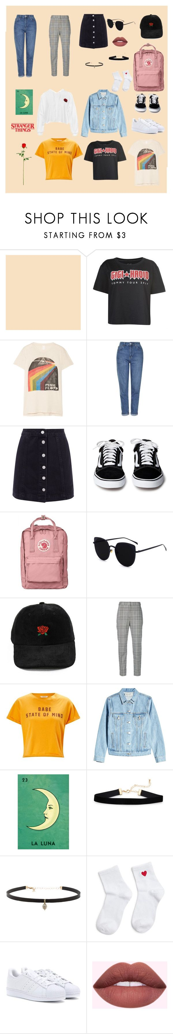"""""""Untitled #171"""" by ramadinanisa ❤ liked on Polyvore featuring Tommy Hilfiger, MadeWorn, Topshop, Alexander Wang, Miss Selfridge, Être Cécile, Carbon & Hyde, Forever 21, adidas Originals and Sans Souci"""