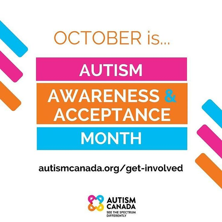 """Today begins #Autism Awareness & Acceptance Month in Canada. Here are three ways you can get involved (LINK IN BIO). 1. """"Like"""" and repost this photo; 2. Host a fundraiser in your workplace school or community; 3. Donate to support Autism Canada's national initiatives."""