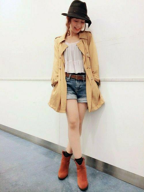 ウエスタンブーツでカントリー風♡カントリーガールのファッションアイデア
