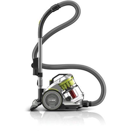 Hoover Air Hard Floor Multi-Cyclonic Canister Vacuum, SH40072, Multicolor