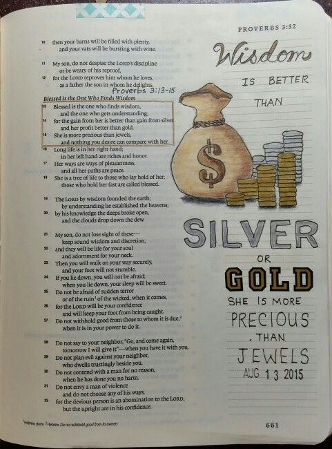 Proverbs 3:15-16, by Paula-Kay Borland