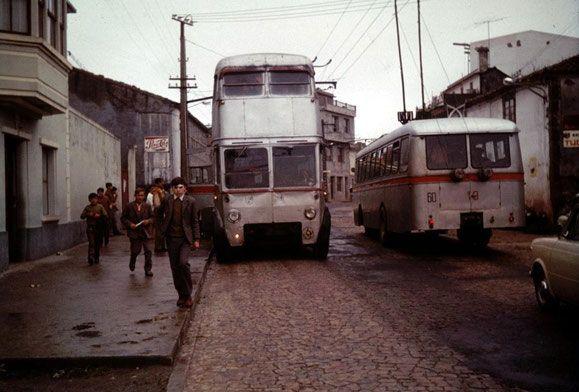 Linea Coruña-Carballo,antes o durante 1971,en que desapareció el de 2…
