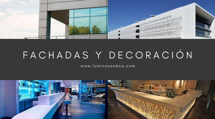 Decoración de #fachadas en Palma de #Mallorca, revestimiento, #celosías, fachadas ventiladas...etc. Solicita presupuesto sin compromiso en www.luminososmca.com