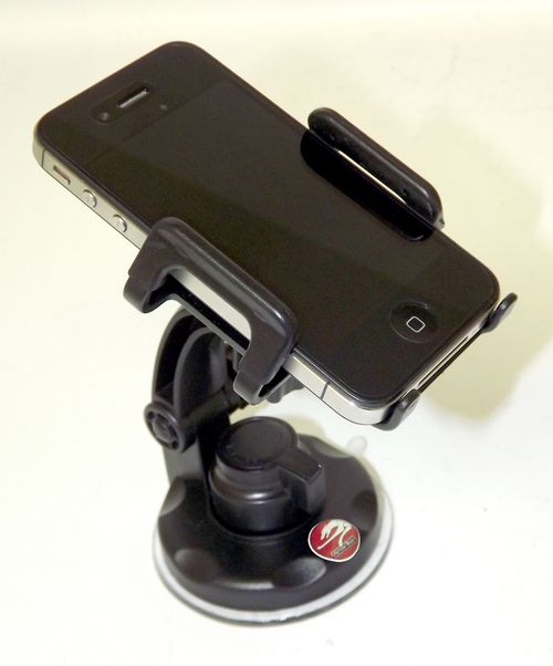Universal iPhone & Android Phone Car Truck Mount Window Suction Cup Holder GPS