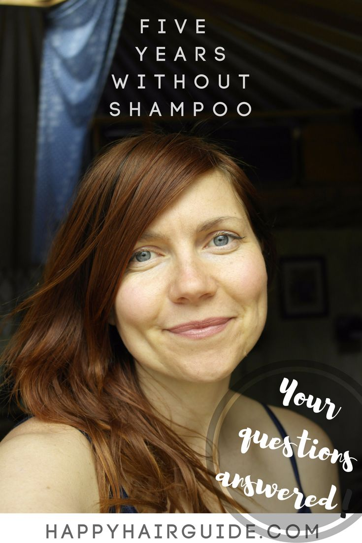 No Shampoo for 5 years - every question answered! #nopoo