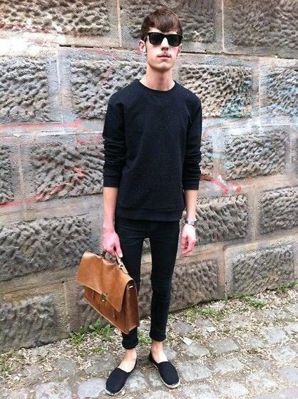Primark Sweater, Cheap Monday Jeans, Primark Shoes, Topman Bag
