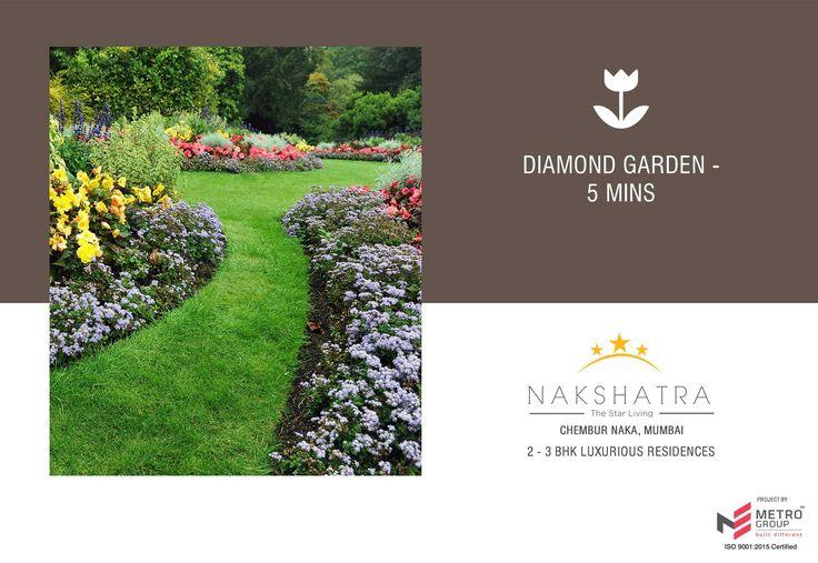 Nakshatra - The Star Living 2 & 3 BHK in the heart of Chembur Diamond Garden - 5 mins www.metrogroupindia.com #Nakshatra #RealEstate #MetroGroup #Chembur #Mumbai