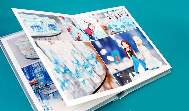 Álbum fotográfico aniversário festa infantil frozen, Álbum e fotolivro infantil profissional personalizado, álbum de fotos infantil temático - menino e menina, encomendar e comprar album de fotos festa de aniversário infantil