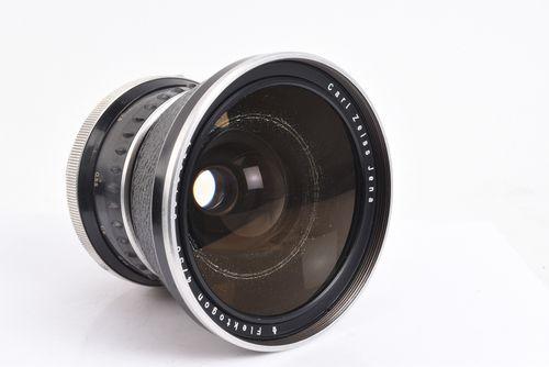 Carl Zeiss Jena Flektogon 50mm f/4 Wide Lens w Caps for Pentacon Six Kiev 60 V98