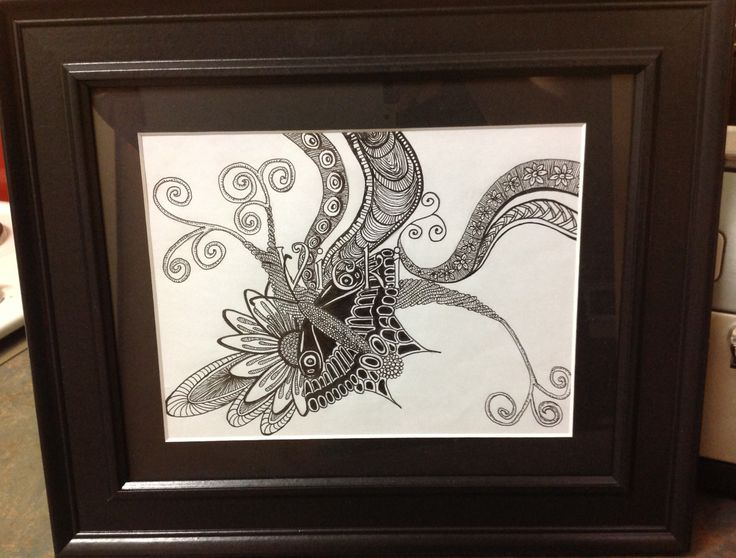 More of my Zentangle