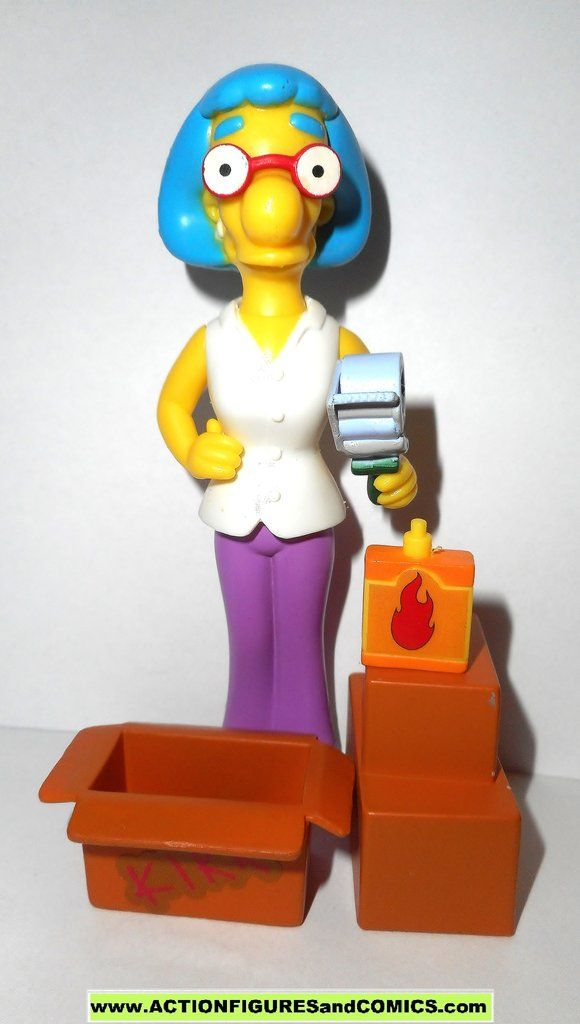 The Simpsons Wave 3 Action Figure Milhouse Playmates
