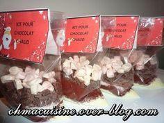 Kit SOS chocolat chaud (à offrir , cadeau gourmand) - Ohmacuisine par Caroline