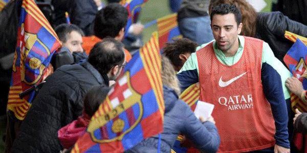 Xavi Ingin Gantung Sepatu Di Barcelona - http://www.sundul.com/berita-bola/liga-spanyol/2014/01/xavi-ingin-gantung-sepatu-di-barcelona/