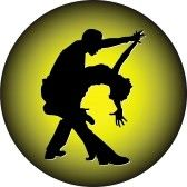 Tango_dance : dance people silhouette vector