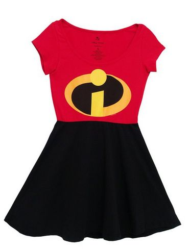 Today's Disney discovery is definitely perfect for this kind of fashionista. Today's disney discovery is the Incredibles skater dress.
