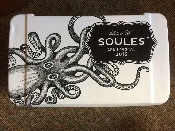 holy shit kraken octopus cooler top dke formal ΔΚΕ Delta Kappa Epsilon ~cooler connection on facebook