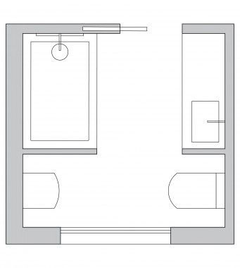 Bathroom Layout Small Square 39+ Ideas | Bathroom layout ...