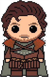 (10) Name: 'Embroidery : GoT: Robb Stark