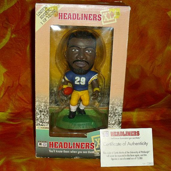 Rare Headliners XL Curtis Martin Figure Sport by WelshGoatVintage - SOLD OUT
