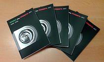 Catalogo BIENNALE DELLA FOTOGRAFIA ANNO ZERO. progetto grafico-editoriale by Carina Aprile. © 2015 (Ed. INC - Diòspero)