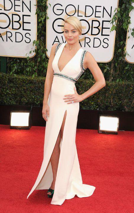Margot Robbie 2014 Golden Globes