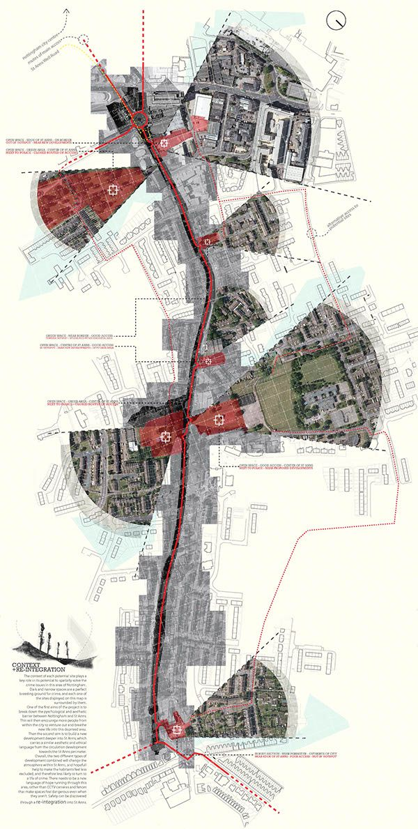 Fractured Cities A Cyclists Retreat Site Analysis