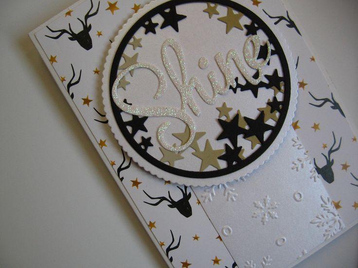Uniwersalna kartka z gwiazdkami ♥rękodzieło♥ - Projectgallias - Kartki karnawałowe