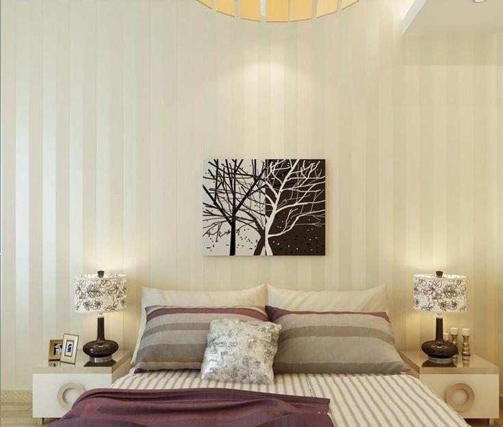 Европейский современный минималистский страна роскошные полосой обои для гостиной спальня телевизор фоне стены 2 цвета выбрать купить в магазине ShangHai DaWei E-Commerce Co., Ltd. на AliExpress