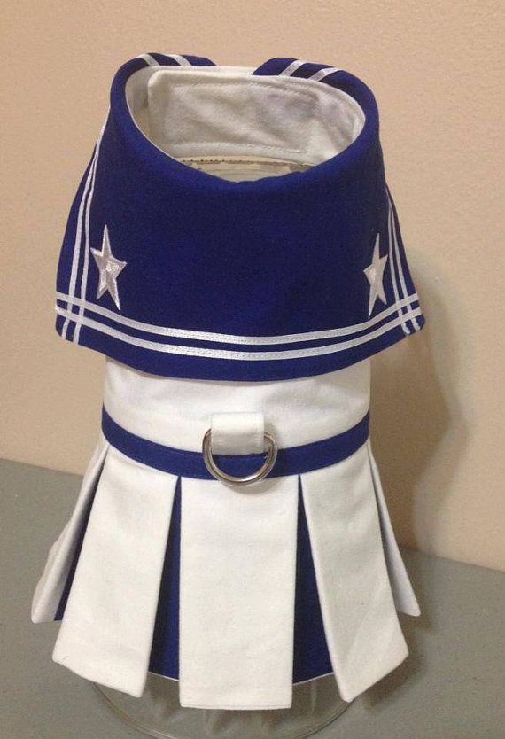 Sailor Dog Dress by FourFootedFashions on Etsy, $25.00