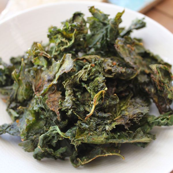 My Kale Chips recipe as featured on My Food Book