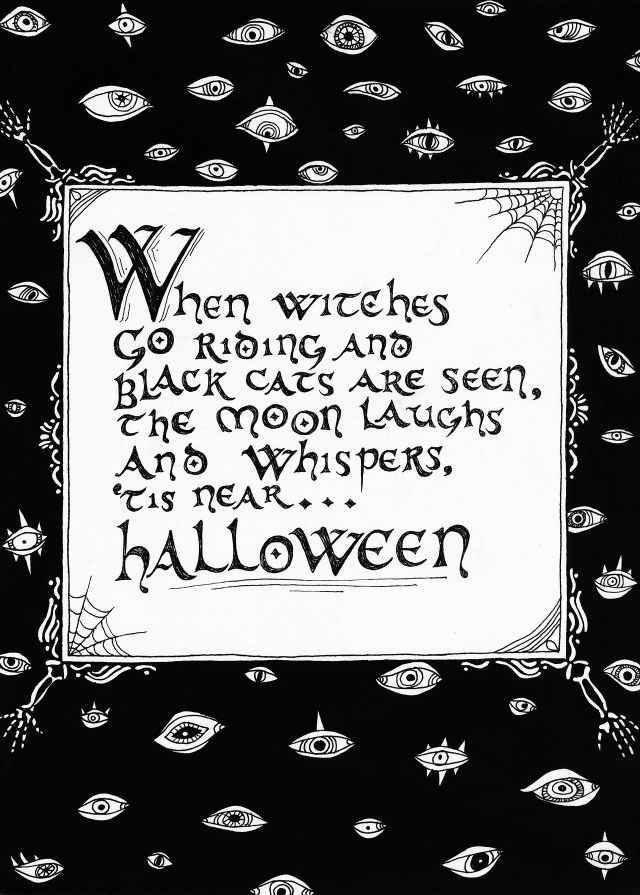 48 best halloween card verses images on pinterest halloween prop verse for halloween card m4hsunfo