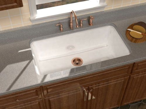 Song Legato 36 X 22 X 11 Single Bowl Cast Iron Undermount Kitchen Sink In White Song Http