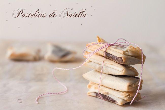 Pastelitos de Nutella- Recetas para niños para disfrutar con ellos