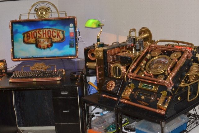 A BioShock PC That Lets You Browse Online For Hats, Garbage Food & Racist Rhetoric