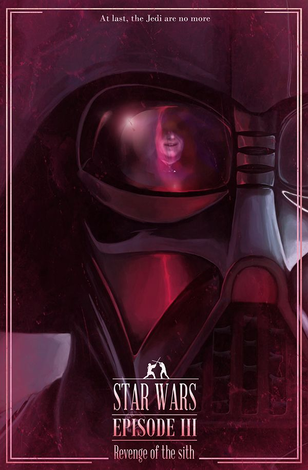Star Wars posters- Reflections on Behance